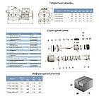 Насос відцентровий багатоступінчастий 0.45 кВт Hmax 35м Qmax 70л/хв LEO 3.0 (775431), фото 2