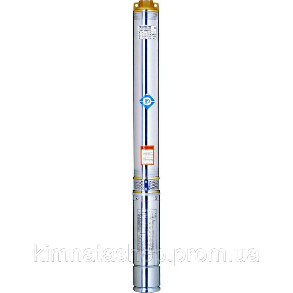 Насос центробежный скважинный 1.5кВт H 197(142)м Q 45(30)л/мин Ø75мм 100м кабеля AQUATICA (DONGYIN) (777406)