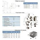 Насос канализационный 0.55кВт Hmax 12м Qmax 242л/мин (нерж) AQUATICA (773421), фото 2