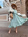 Женское платье с поясом, фото 2