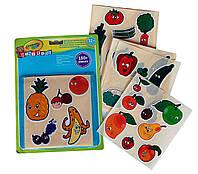 Набор наклеек для малышей Овощи и фрукты (180 наклеек), Mini Kids, Crayola