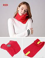 Подушка-шарф для путешествий Travel Pillow красный, Подушки, Подушка-шарф для подорожей Travel Pillow червоний