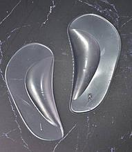 Силиконовые стельки под маленький подъем стопы HM Heels