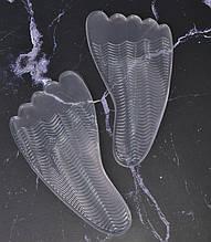 Силиконовые полустельки под высокий подъем стопы HM Heels