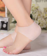 Силиконовые носки для пяток от натирания HM Heels pink