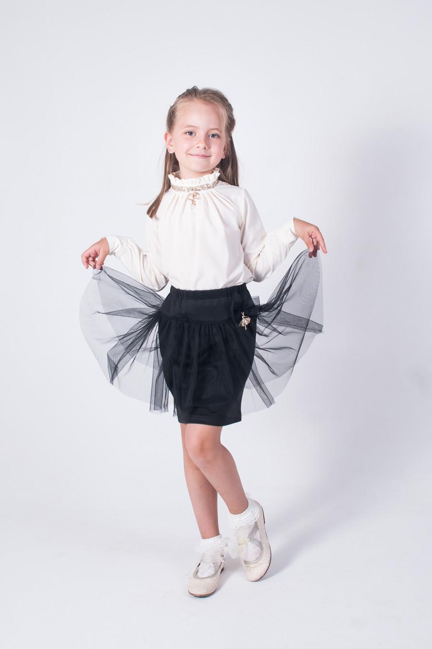 Школьная блуза белая