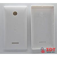 Задняя крышка Microsoft / Nokia 435 Lumia Dual Sim/532 (RM-1069) (white) (8000001W)