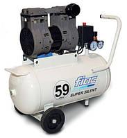 Безмасляный компрессор SUPERSILENT 50  (ресивер 50 л, пр-сть 160 л/мин)