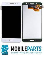 Дисплей для Samsung J510F | J510H Galaxy J5 2016 с сенсорным стеклом (Белый) TFT подсветка оригинал