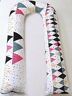 Подушка для вагітних, геометрія