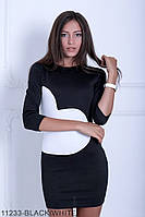 Оригінальне приталене молодіжне плаття-міні з французького трикотажу Fritillary