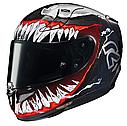 Мотошлем Hjc RPHA-11 Venom 2 Marvel Limited, фото 3