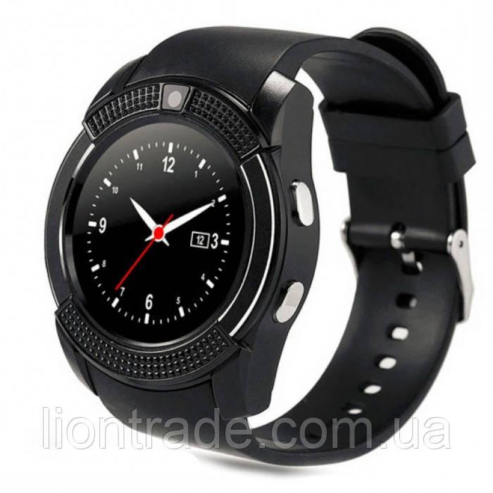UWatch Умные часы Smart V8 Black