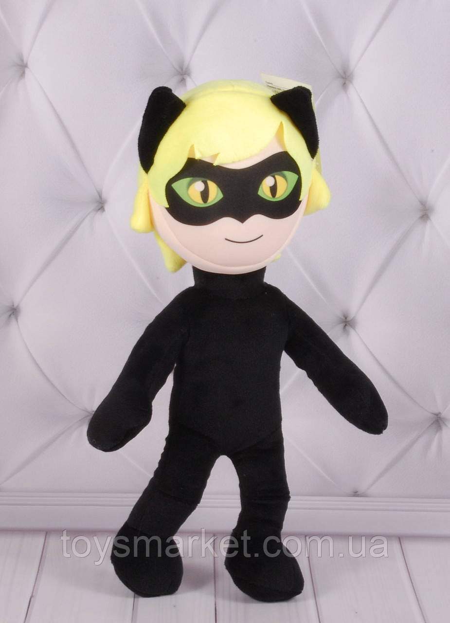 Мягкая игрушка Супер-Кот, Леди Баг и Супер Кот