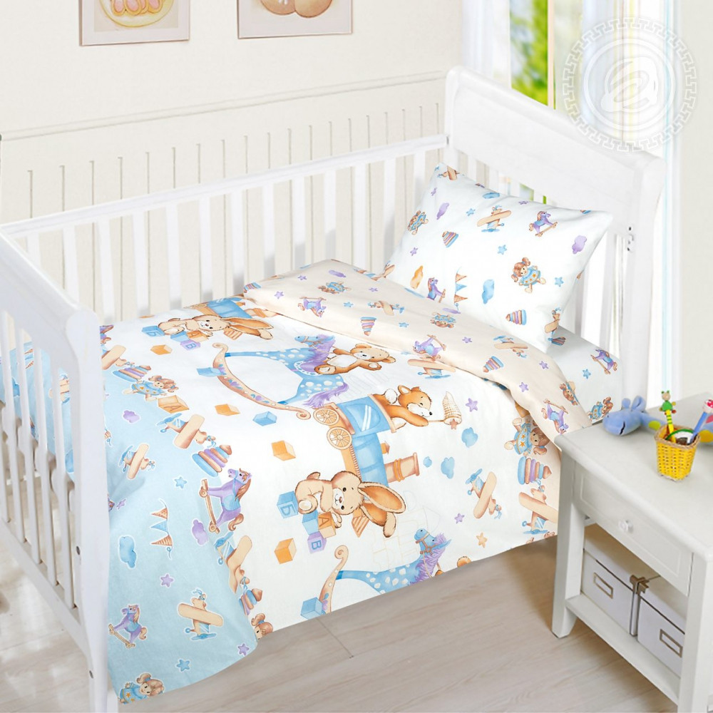 Постельное белье Детство бязь ГОСТ ТМ Комфорт текстиль (в детскую кроватку)
