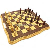 Настольная игра деревянные шахматы с магнитом D5