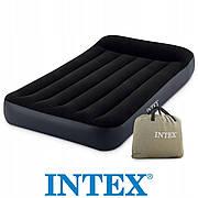 Велюр матрац Intex 64142  полуторный,  размером 137х191х25 см.