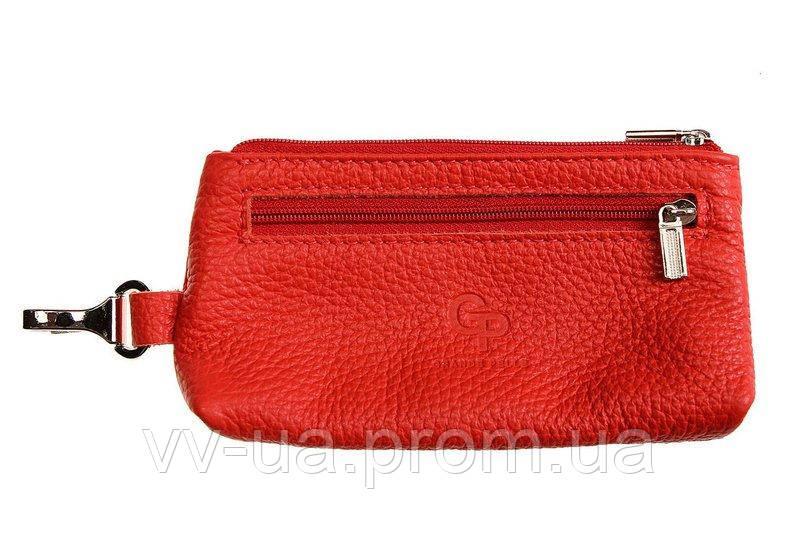 Ключница Grande Pelle Borsetta, красный, кожа