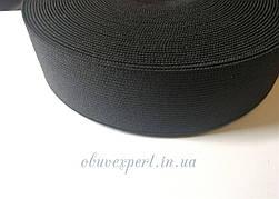 Резинка  взуттєва чорна 30 мм