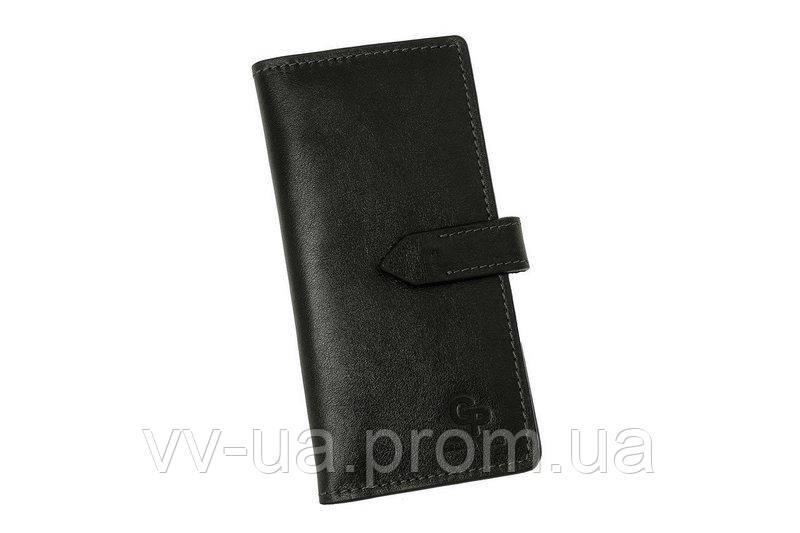 Портмоне Grande Pelle, черный, кожаный (524610)