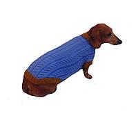 Вязанная теплая одежда для собаки,свитер для таксы,свитер для собаки,теплая одежда для собаки