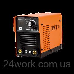 Сварочный инвертор DWT MMA-200 MINI