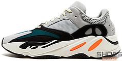 Мужские кроссовки Adidas Yeezy Wave Runner 700 Solid Grey B75571, Адидас Изи 700