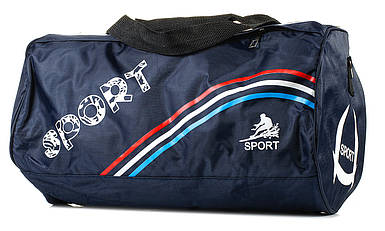 Спортивна сумка з нейлону BR-S 998259086 темно-синя