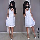Женский летнее платье-трапеция из батиста с карманами (в расцветках), фото 2