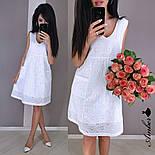 Женский летнее платье-трапеция из батиста с карманами (в расцветках), фото 5