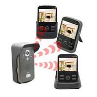 Беспроводный влагозащитный видеодомофон с 3-мя экранами (мод. Kivos KDB700х2) , фото 1