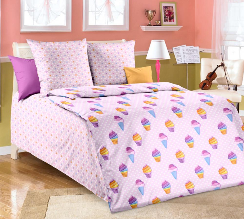 Постельное белье Лакомка бязь  ГОСТ ТМ Комфорт текстиль (в детскую кроватку)