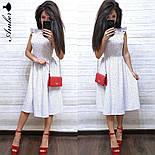 Женский летнее платье-миди софт (в расцветках), фото 7