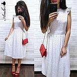 Женский летнее платье-миди софт (в расцветках), фото 8