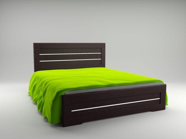 Ліжко Неман СОЛОМІЯ Н-206 Венге 1665х2032