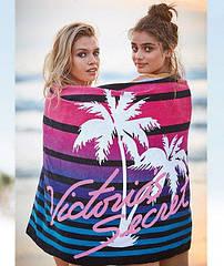Яркое большое пляжное полотенце Victorias secret (США) Оригинал