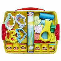 Play-Doh чемодан Набор пластилина c формачками