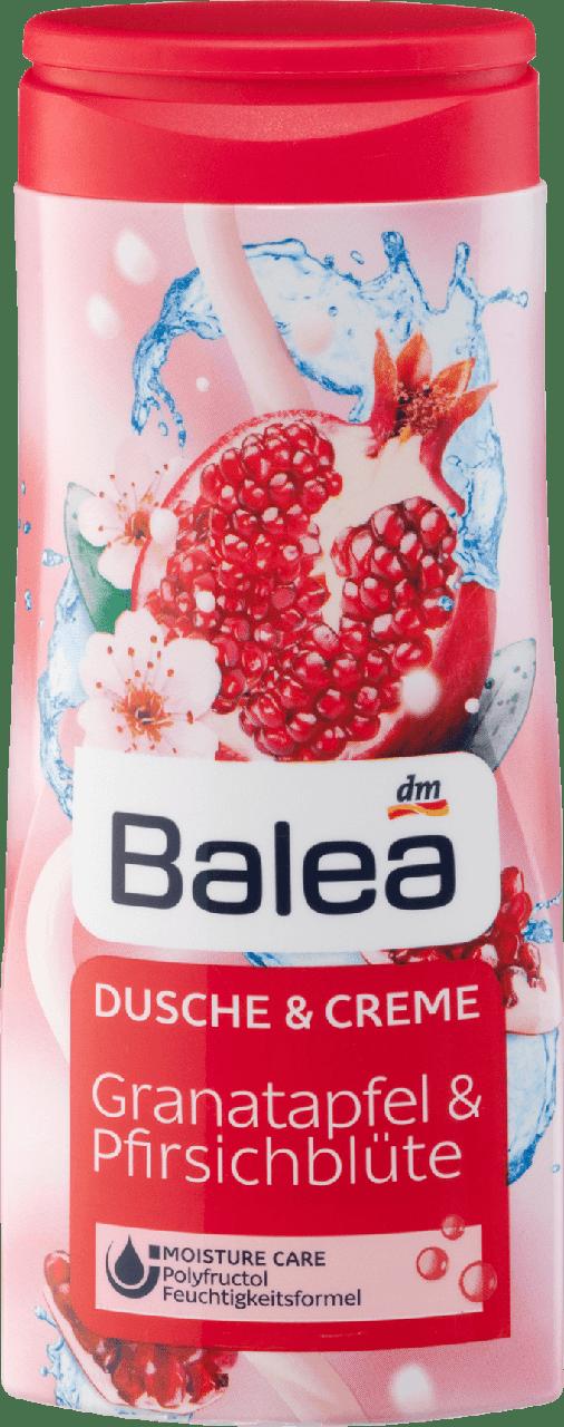 Крем - гель для душу Balea Granatepfel & Phirsichblute 300 мл.