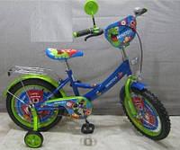 Велосипед детский на 16д. PM1644 МОНСТРЫ