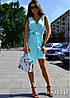 Женский сарафан на пуговицах, в расцветках. ВВ-2-0719, фото 5