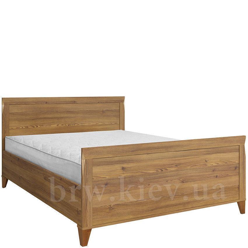 """Ліжко 160*200 """"Граф"""" від Гербор (горіх верона)."""