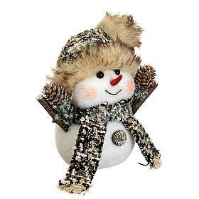 """Декор """"Снеговик маленький"""" (20*18см), 002NS"""