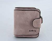 Кошелек Baellerry N2346 pink, Кошелек женский, Замшевый кошелек, Мини кошелек, Женское портмоне