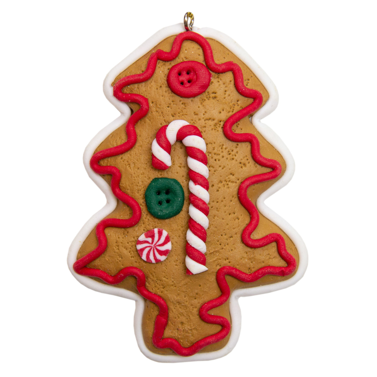 Фигурка сувенирная, полирезин, 8см, печенье Елка, (000661-10)