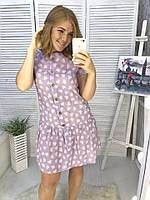 Платье льняное летнее 5 расцветок, фото 1