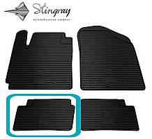 Kia Picanto  2011- Задний левый коврик Черный в салон