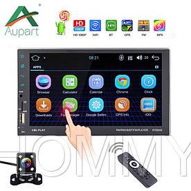 2din Автомагнитола Pioneer 8708 GPS, WiFi, Bt Android 7 + КАМЕРА!