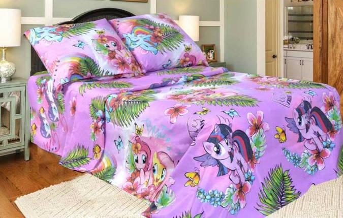 Постельное белье Литл Пони бязь ТМ Комфорт текстиль (евро), фото 2