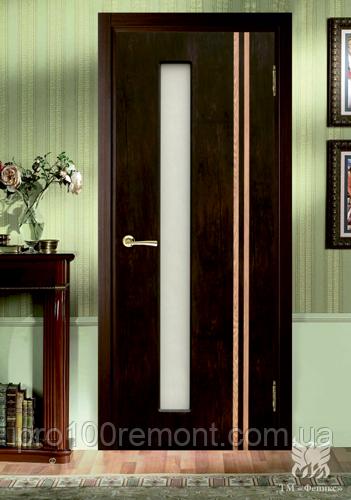 Двері Фенікс серія Моноліт полотно Відень