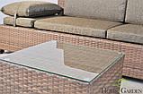 Диван для дому, саду чи терасси + столик, фото 4